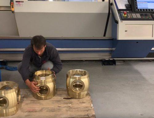Lavorazione meccanica di precisione di componenti