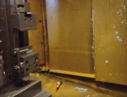 Settaggio centro di lavoro pallettizzato in lavorazione – TEK Officine meccaniche